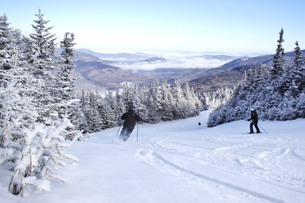 Big views and soft turns at Wildcat Mountain. - ©Wildcat Mountain