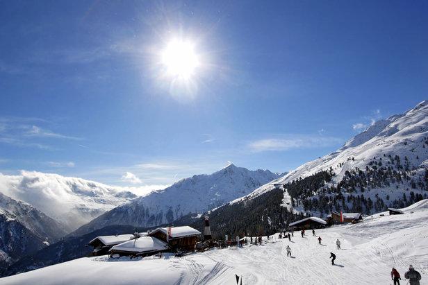 Sölden - Gampe Alm  - © Bergbahnen Sölden & Ötztal Tourismus / Isidor Nösig