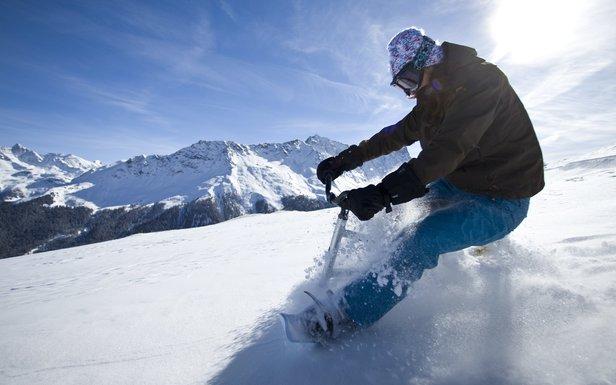 Savognin (Szwajcaria) - Funsport: Snowcycle  - © Graubünden Ferien