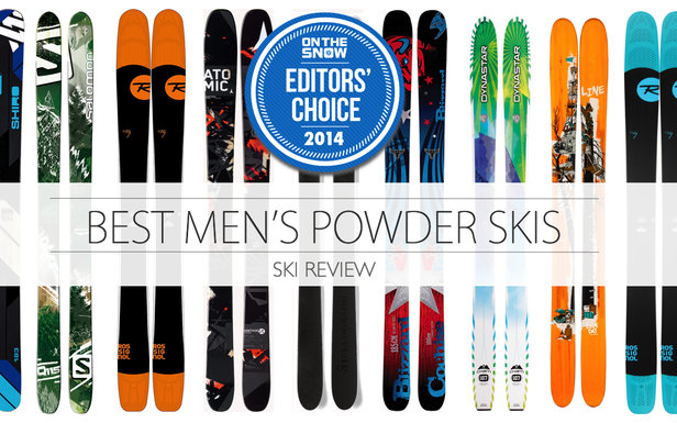 Top Powder Skis for Men 2014