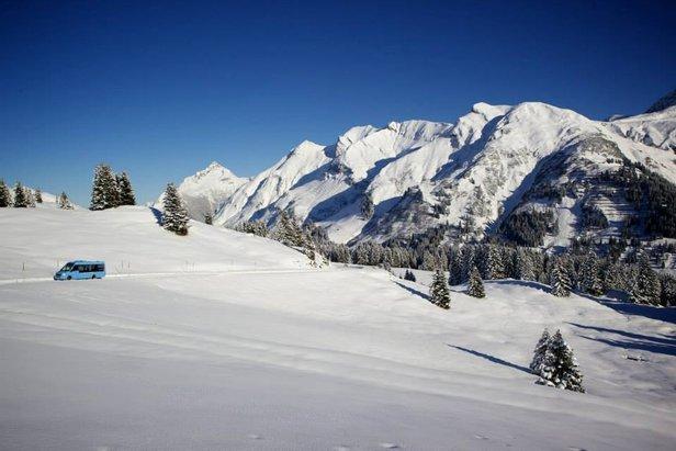 Lech-Zürs op 27 november 2013