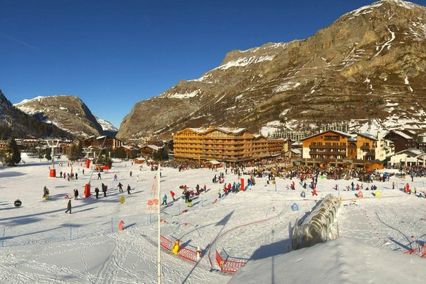 Nursery ski area in Val d'Isere  - © Val d'Isere