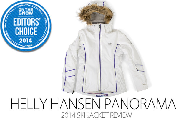 2014 Women's Ski Jacket Editors' Choice: Helly Hansen Panorama Jacket- ©Julia Vandenoever