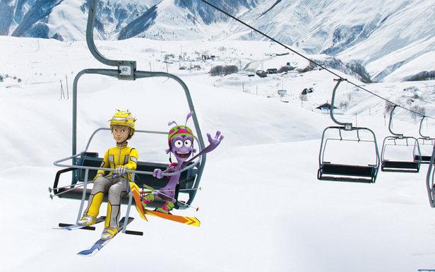 Skizz et Swag (deux héros de dessin animé) nous accompagneront tout au long de la saison d'hiver pour nous délivrer de précieux conseils de sécurité afin d'emprunter les télésièges en toute séreinité...