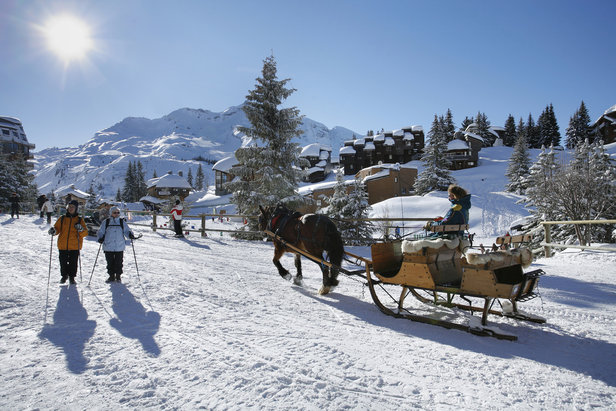 Les portes du soleil a network of traditional villages - Portes du soleil horaires ...