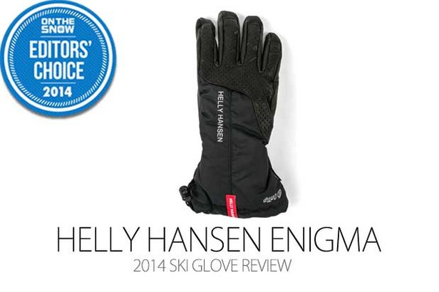 2014 Men's Ski Glove Editors' Choice: Helly Hansen Enigma  ©Julia Vandenoever