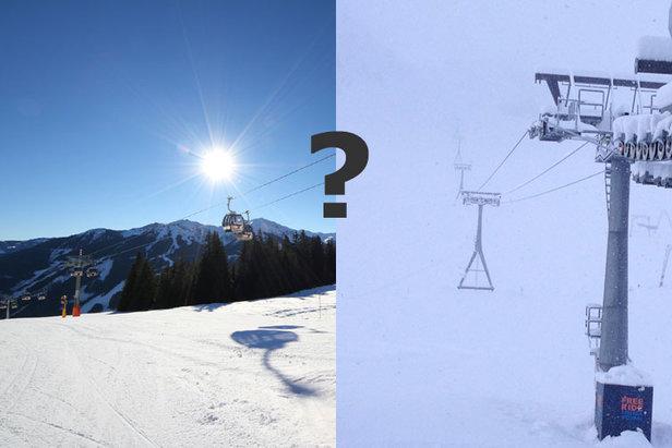 So wird das Skiwetter an Ostern: Sonnenskilauf oder Schneegestöber?- ©Skiinfo / Stubaier Gletscher