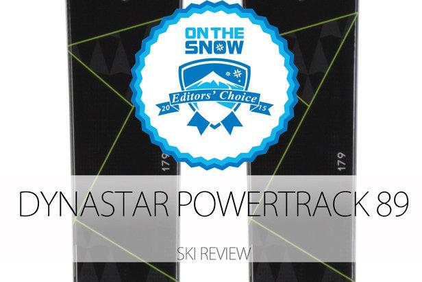 2015 Men's All-Mountain Front Editors' Choice Ski: Dynastar Powertrack 89- ©Dynastar