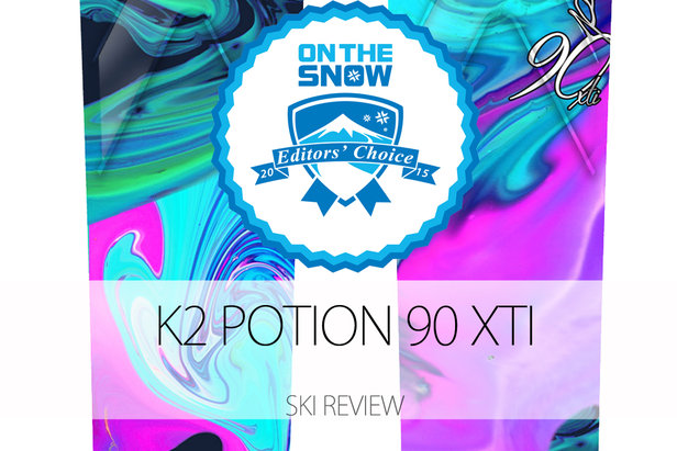2015 Women's All-Mountain Front Editors' Choice Ski: K2 Potion 90 XTi ©K2