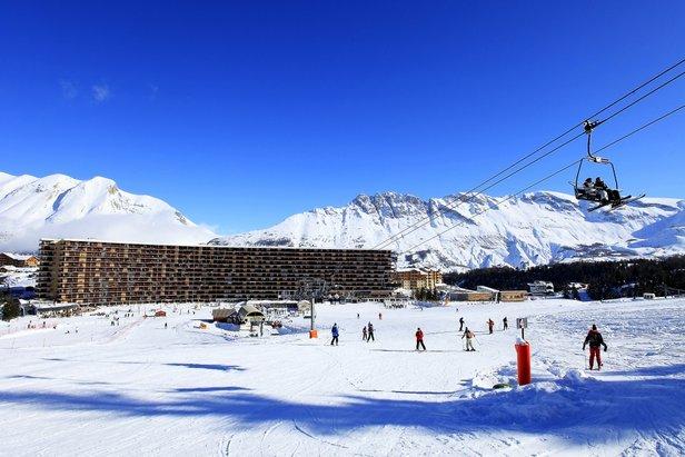 Superdévoluy est la station skis aux pieds par définition