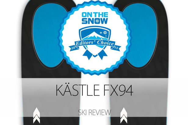 Kästle FX94, a 2015 Editors' Choice Men's All-Mountain Back Ski.