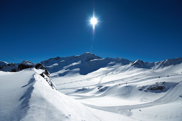 Eerste skistations openen de deuren- ©© Kaunertaler Gletscherbahnen - Daniel Zangerl