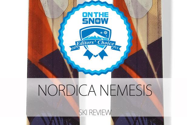 Nordica Nemesis, a 2015 Editors' Choice Women's All-Mountain Back Ski.