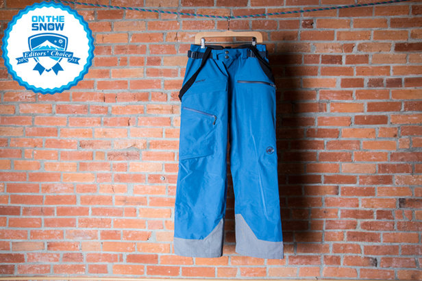 2015 Men's Ski Pants Editors' Choice: Mammut Trift GTX 3L Pant ©Liam Doran