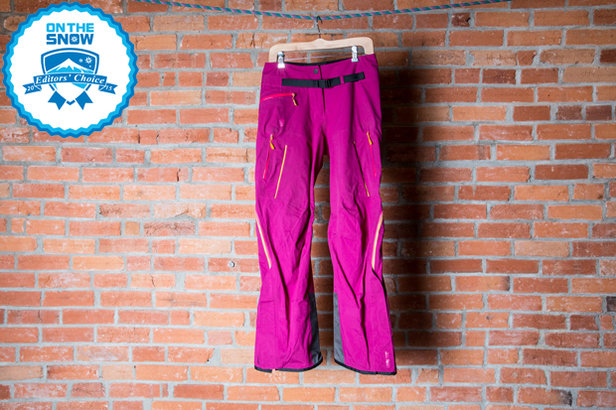 2015 Women's Ski Pants Editors' Choice: Salomon Soulquest BC GTX 3L Pant- ©Liam Doran