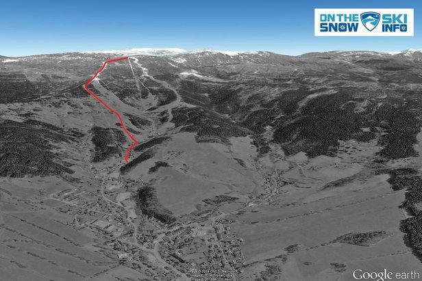 Rokytnice nad Jizerou, Horní Domky: druga najdłuższa trasa narciarska w Czechach  - © OnTheSnow