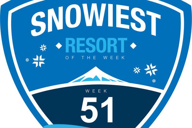 Snowiest resort of week 51