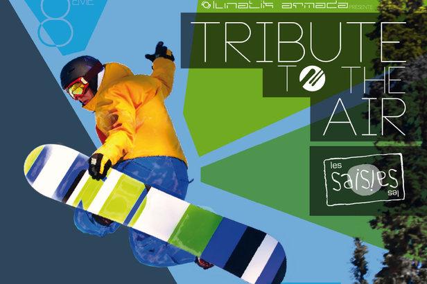 Tribute to the Air, l'évènement Mix Arts Freestyle des Saisies