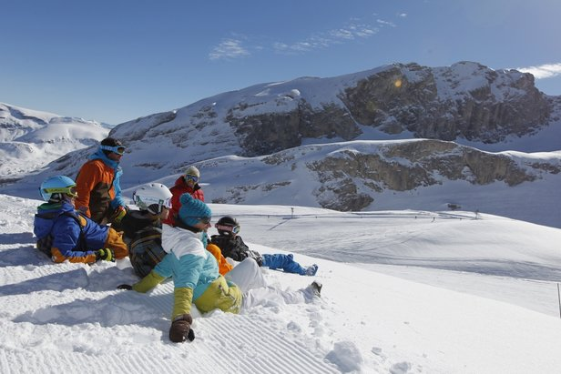 Le plaisir de partager, le Dévoluy, Hautes-Alpes (© Agence Urope)