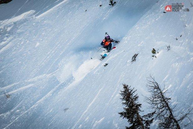 Sicherheit geht vor: Freeride World Tour Fieberbrunn nach dem Damen-Ski-Bewerb verschoben ©©freerideworldtour.com / DAVID CARLIER