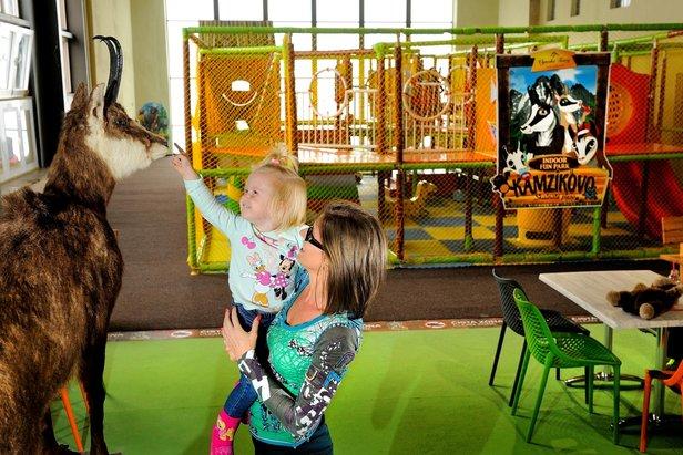 Kamzíkovo - detské zábavné centrum na Skalnatom plese