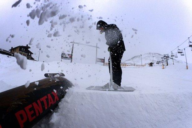 """Big snow, ovvero che settimana è stata """"nivologicamente"""" parlando- ©Snowpark Prato Nevoso (Facebook)"""