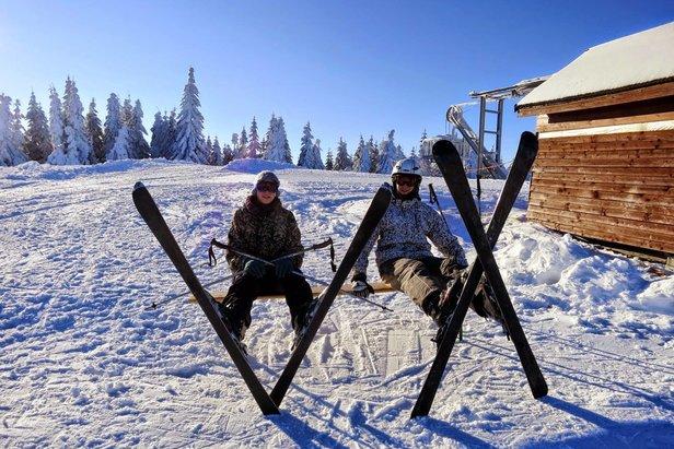 Kde na Slovensku sa dnes lyžuje a koľko je snehu ©Michaela Slobodová