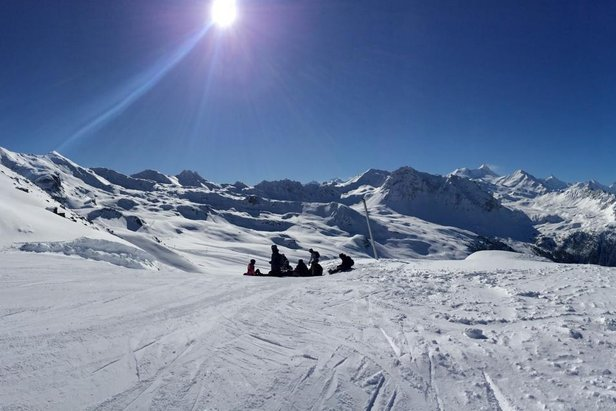 Ski de printemps à Grimentz-Zinal