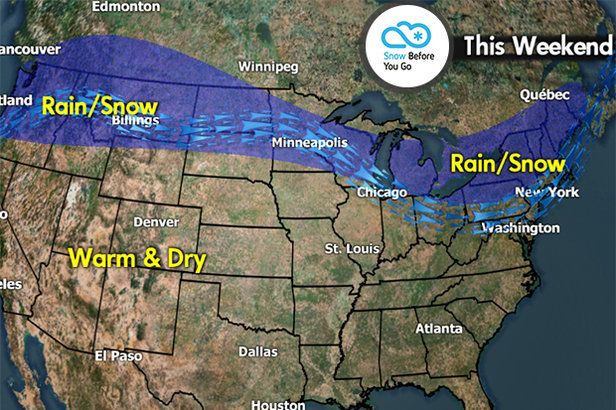 Snow Before You Go: Stay North for the Best Conditions