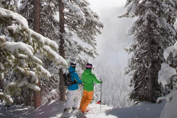 The Visitors' Choice Award for Best Overall Ski Resort of 2015 Goes To... - ©Cody Downard