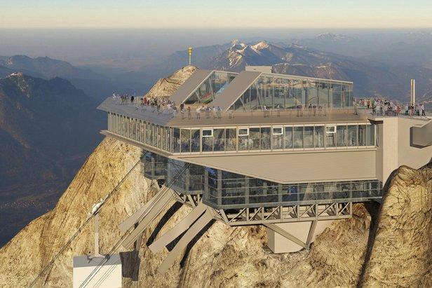 Nieuwe liften, nieuwe partnerships, nieuwe investeringen -  Duitsland ©Bayerische Zugspitzbahn Hasenauer Architekten