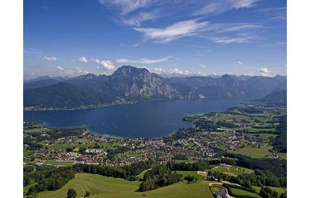 Luftbild: Traunsee von Altmünster