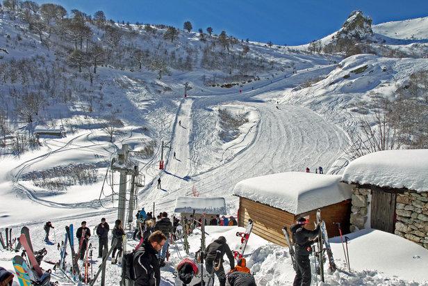 pistes de ski de Ghisoni
