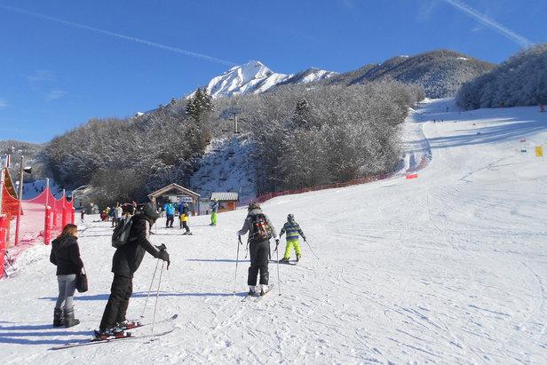 pistes de ski de Saint Léger les Mélèzes
