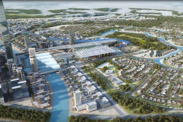 Dubaj plánuje výstavbu najväčšej lyžiarskej haly na svete 43a5a88c303