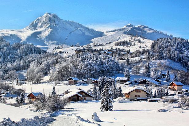 station de ski Bellevaux - Hirmentaz