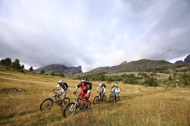 Des parcours accessibles, d'autre splus sportifs ou à profil Enduro, voilà l'un des nombreux atout de la Rando VTT l'Eterlou disputée chaque été dans le Dévoluy