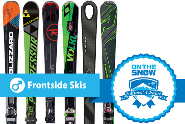 Editors' Choice: the top men's Frontside skis for 2015/2016.