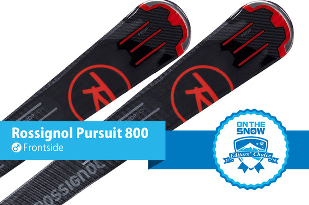 Rossignol Pursuit 800: Editors' Choice, Men's Frontside