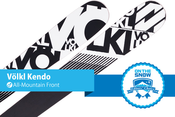 Völkl Kendo: Editors' Choice, Men's All-Mountain Front