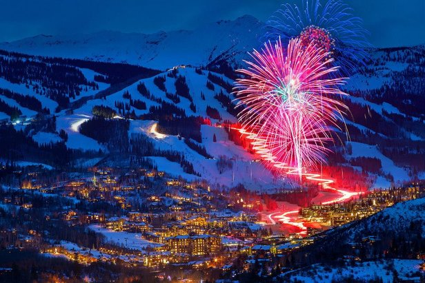 Aspen New Year fireworks