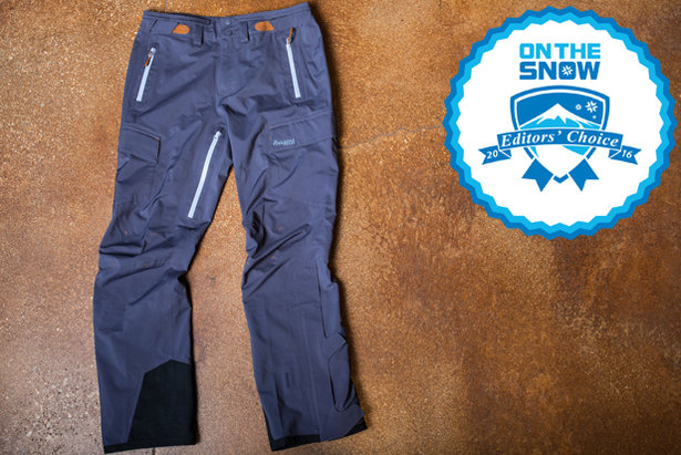 2016 Men's Pants Editors' Choice: Bergans Sirdal Pant ©Liam Doran