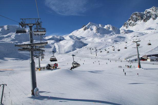 Huge variety of ski slopes in Ischgl