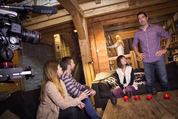 Dans les coulisses du tournage de la prochaine campagne de promotion des Hautes-Alpes...