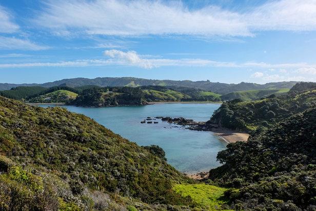Panorama vom Mahinepua Peninsula Track - ©Julia Mohr