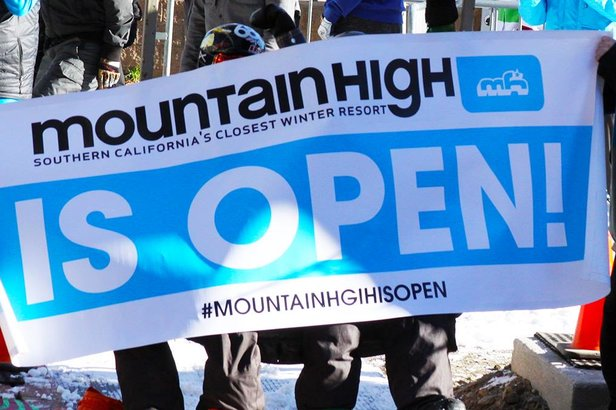 California Ski Resorts Ramp up Early Season- ©Mountain High