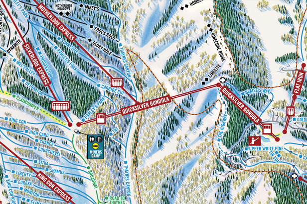 The new Quicksilver Gondola connects the original Park City and Canyons.  - © Park City/Vail Resorts