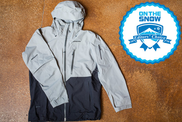 2016 men's jackets Editors' Choice: Patagonia PowSlayer Jacket