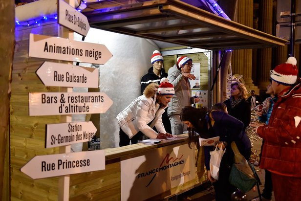 Du 19 au 22 novembre 2015, France Montagnes lancera la saison d'hiver au cœur de Paris !