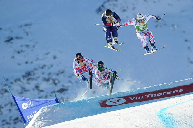 Ski Cross World Cup Val Thorens  - © L. Salino/Zoom